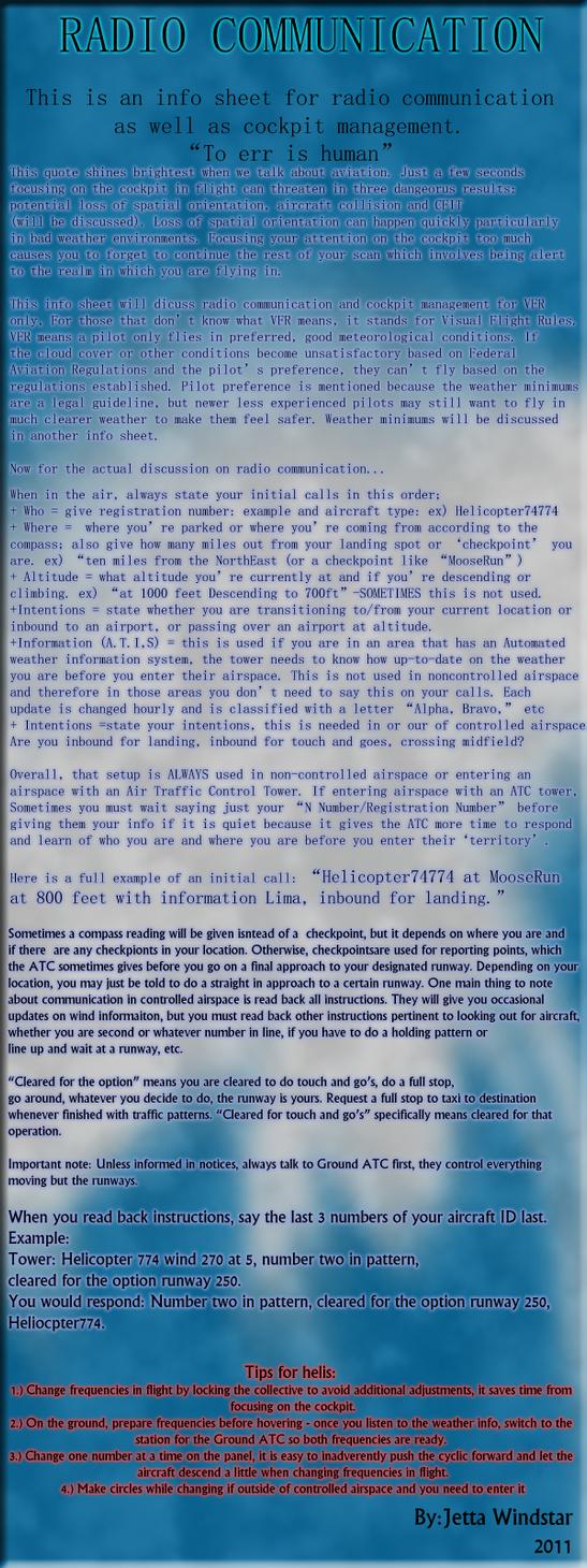 Radio Communications Part 1 by Jetta-Windstar