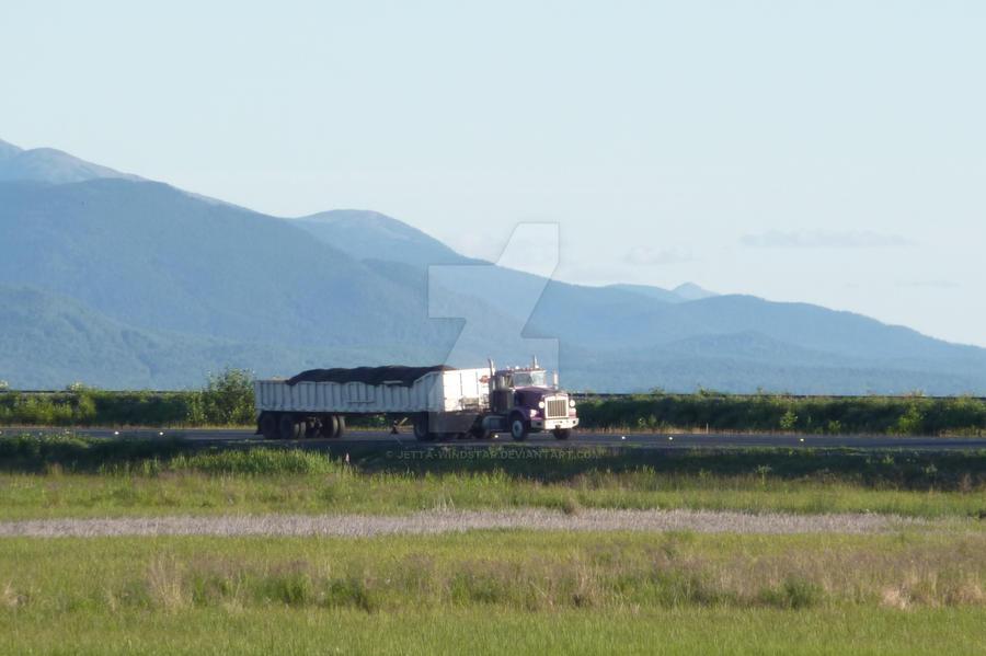 Trucking In Alaska by Jetta-Windstar