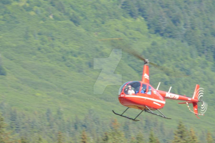 R44 landing by Jetta-Windstar