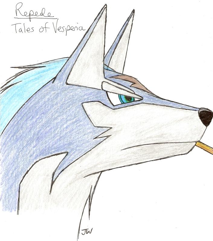 Tales of Vesperia: Repede by Jetta-Windstar