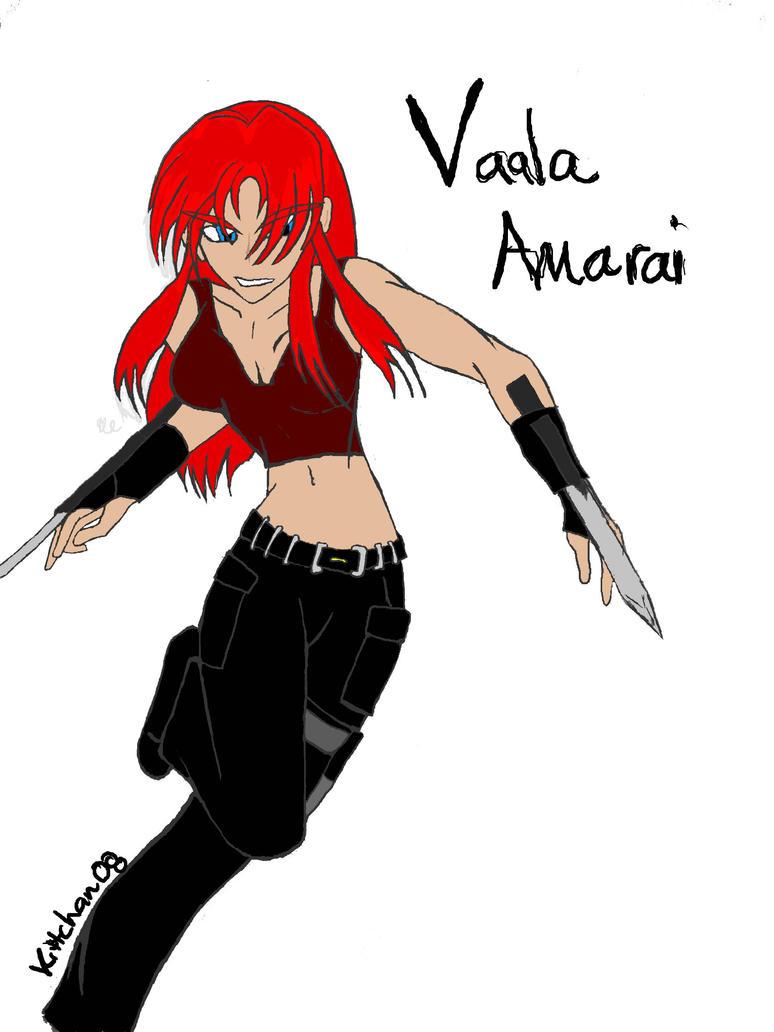 Vaala Amarai - old art by Jetta-Windstar
