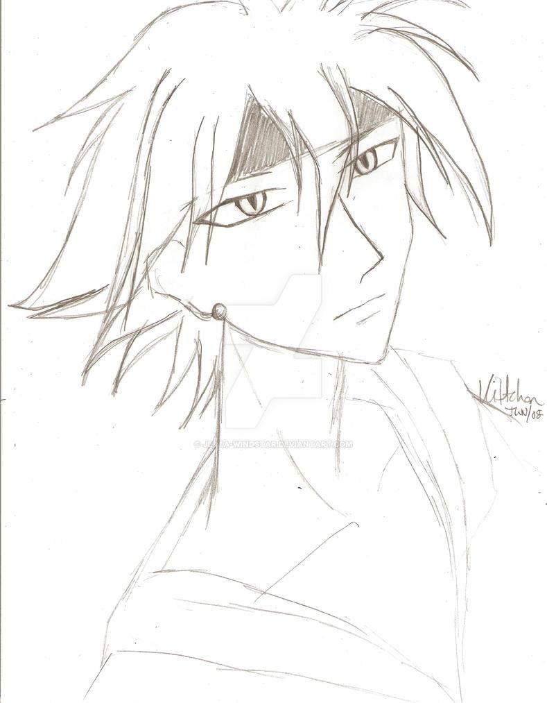 Hotaru - old sketch by Jetta-Windstar