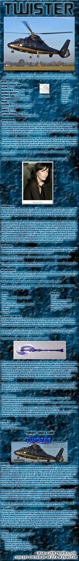 Twister: TFP Falling Skies Image Profile by Jetta-Windstar