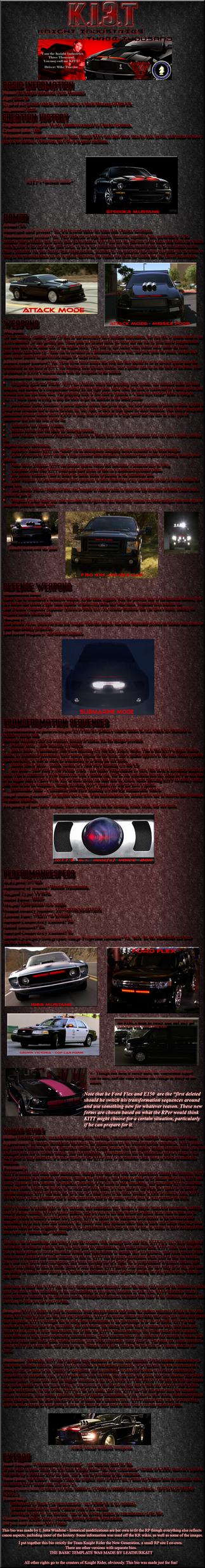 KI3T: TKR-New Generation bio by Jetta-Windstar