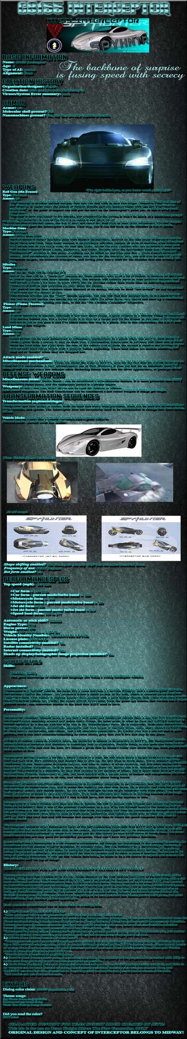 Intercepter bio: TKR by Jetta-Windstar