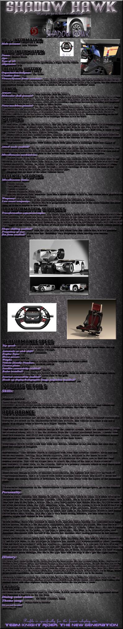 Shadow Hawk RP Bio: TKR by Jetta-Windstar