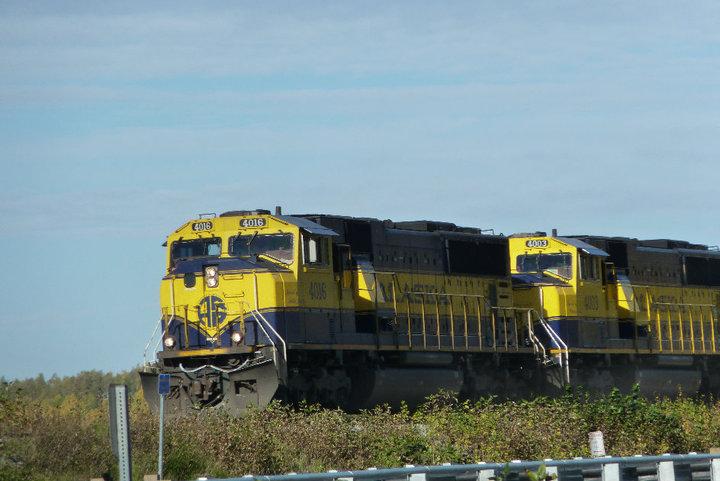 Alaska train by Jetta-Windstar