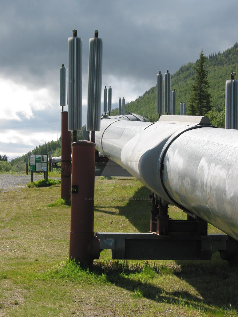 Alaska pipeline by Jetta-Windstar