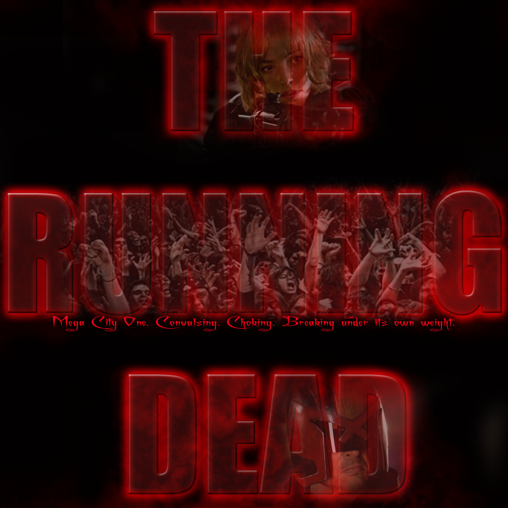 The Running Dead fanfic cover by Jetta-Windstar
