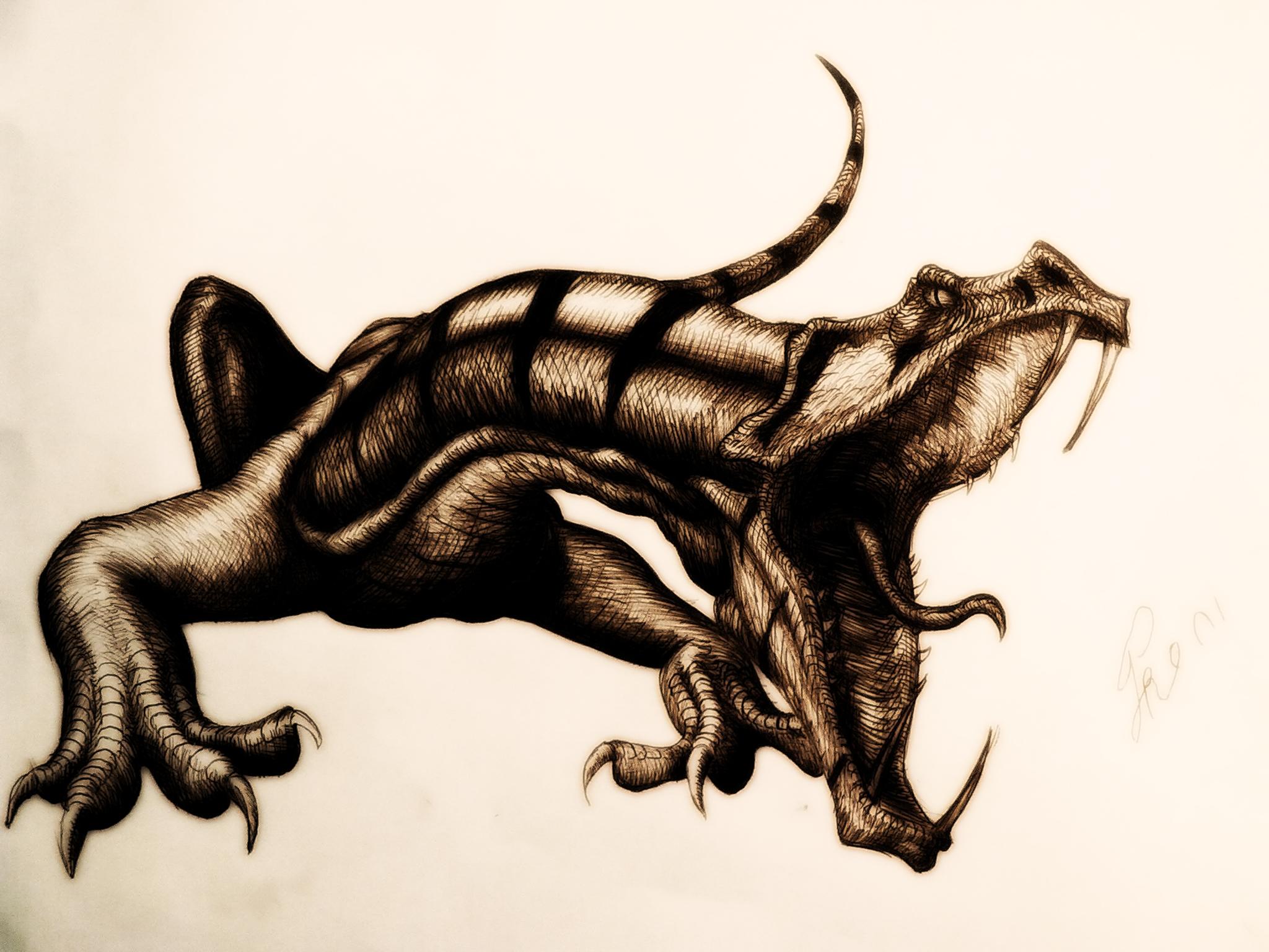 Dragon by GodAntichrist