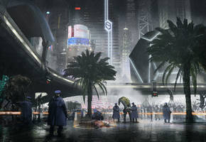 Downtown Murder by janditlev