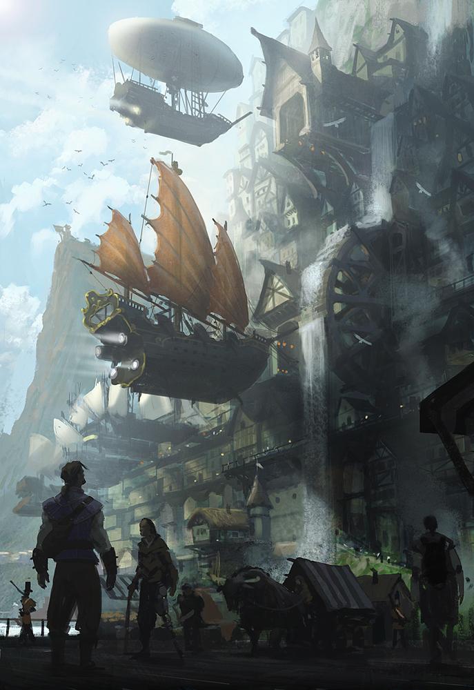 The city of Alkon by janditlev