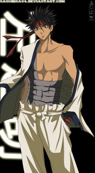 Rurouni Kenshin: Sanosuke Sagara by IITheDarkness94II