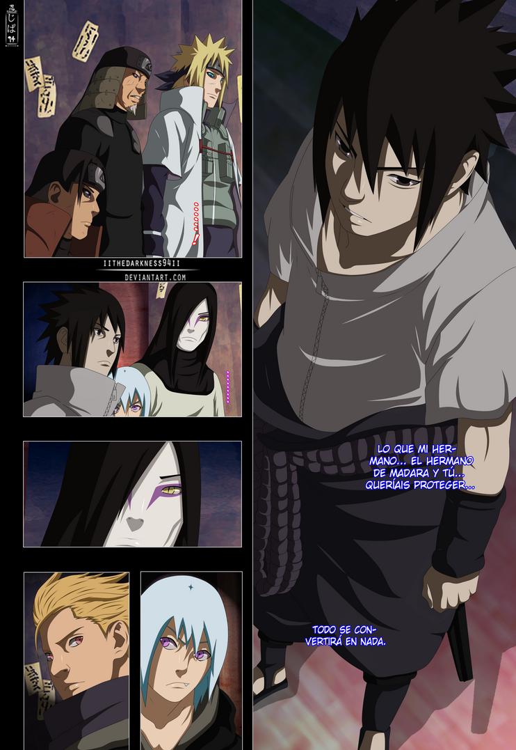 Naruto 627: The Answer of Sasuke by IITheDarkness94II