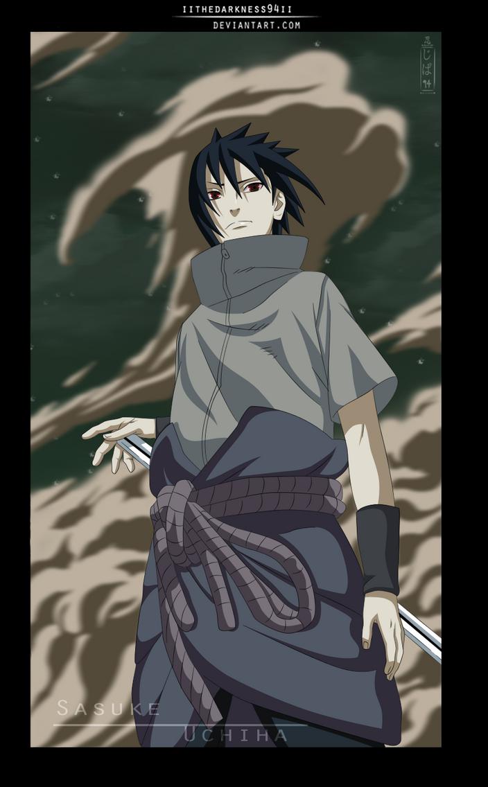 Naruto 632: Fighting Of Sasuke by IITheDarkness94II