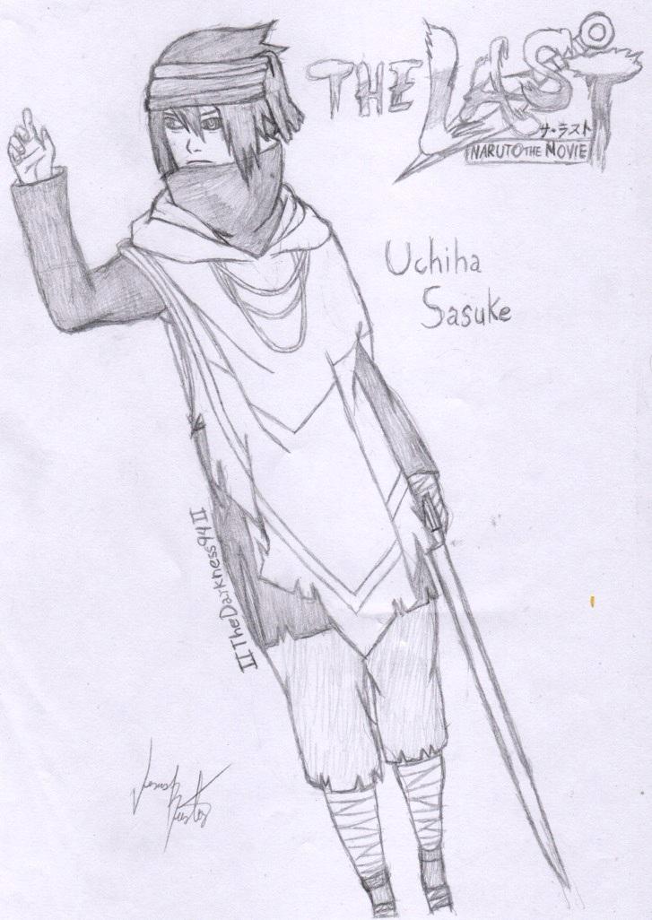 Uchiha Sasuke (The Last) by IITheDarkness94II