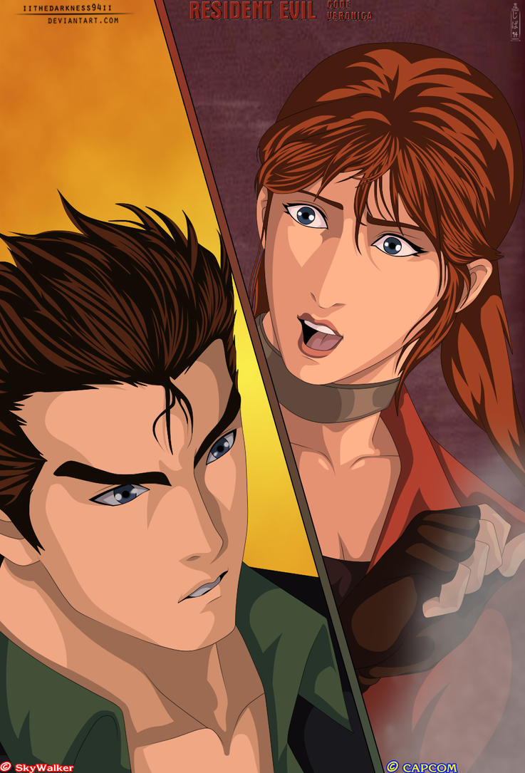 Resident Evil Code: Veronica The Redfield Siblings by IITheDarkness94II