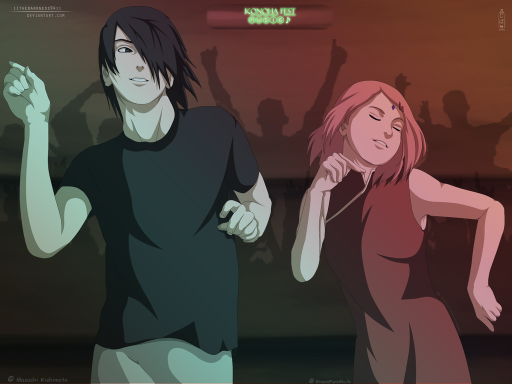 Dancing Swords (Sasusaku) by HwangAhYoung on DeviantArt