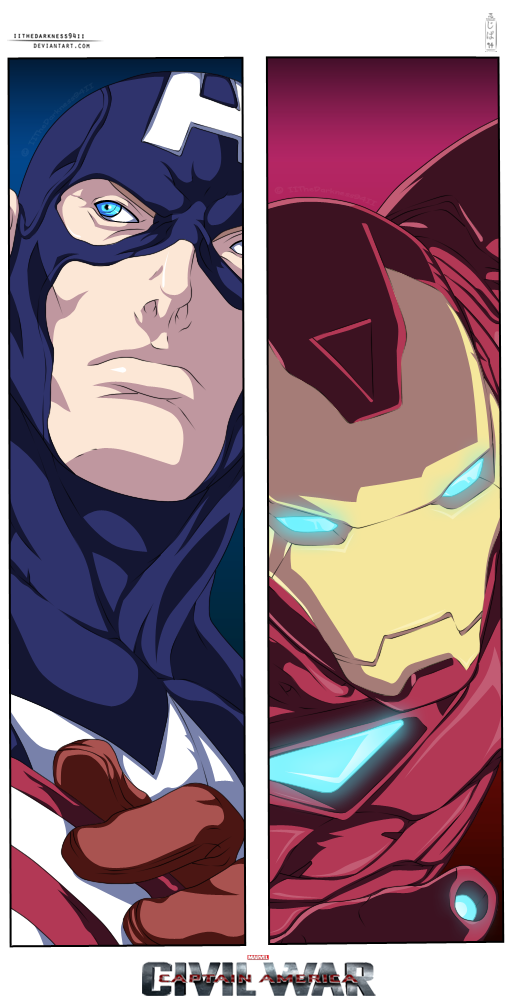 Captain America: Civil War by IITheDarkness94II
