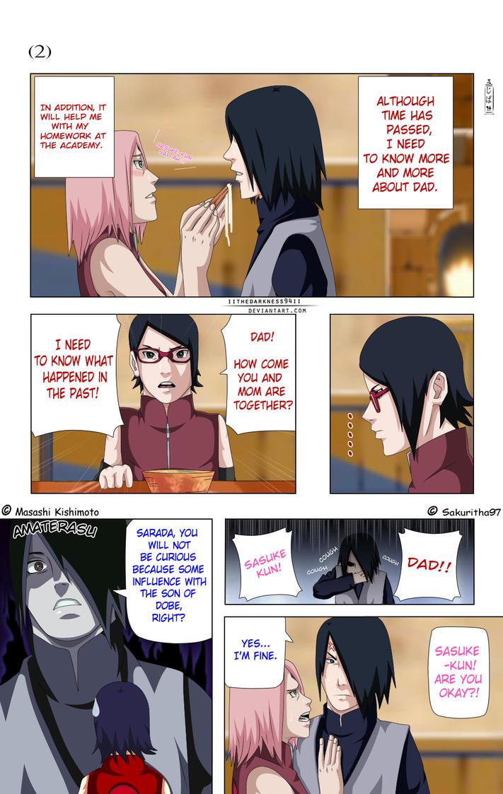 SasuSaku Doujinshi: Page 2 by IITheDarkness94II