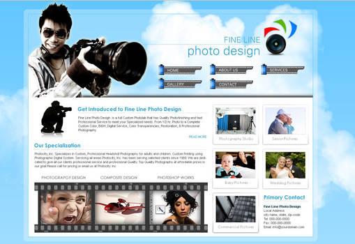 Fine line photo design