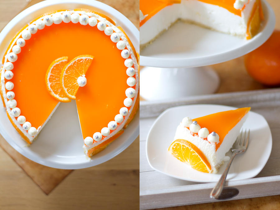 Orange Cheesecake by KristieM