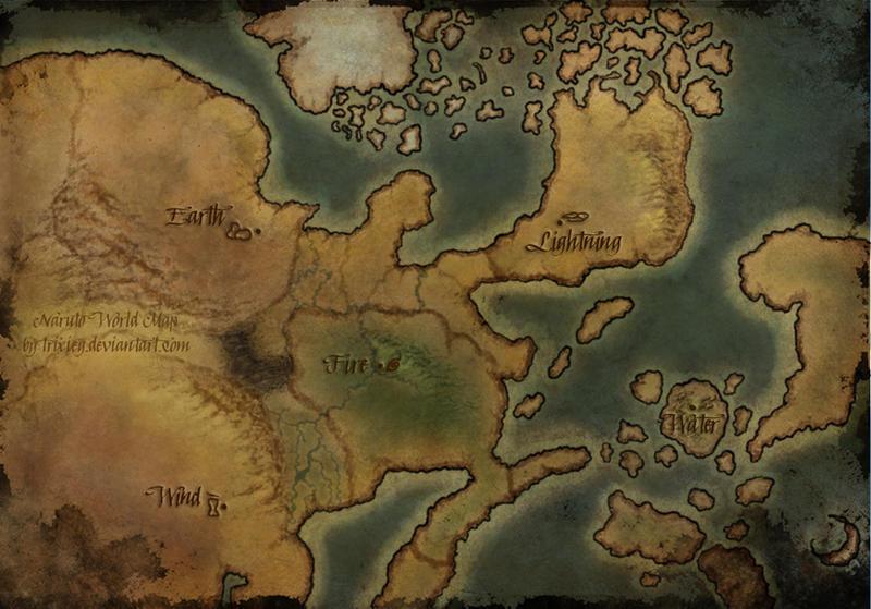 New Naruto Map - Artists\' Square - Heaven & Earth