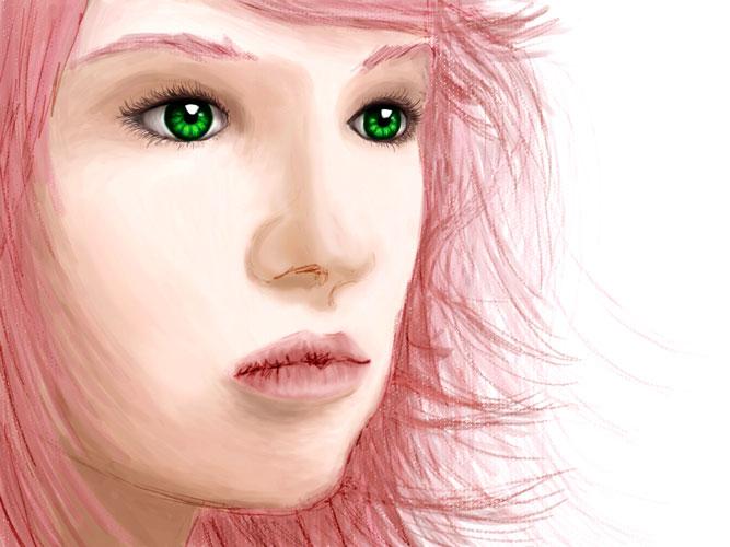 Sakura sketch by trixieg