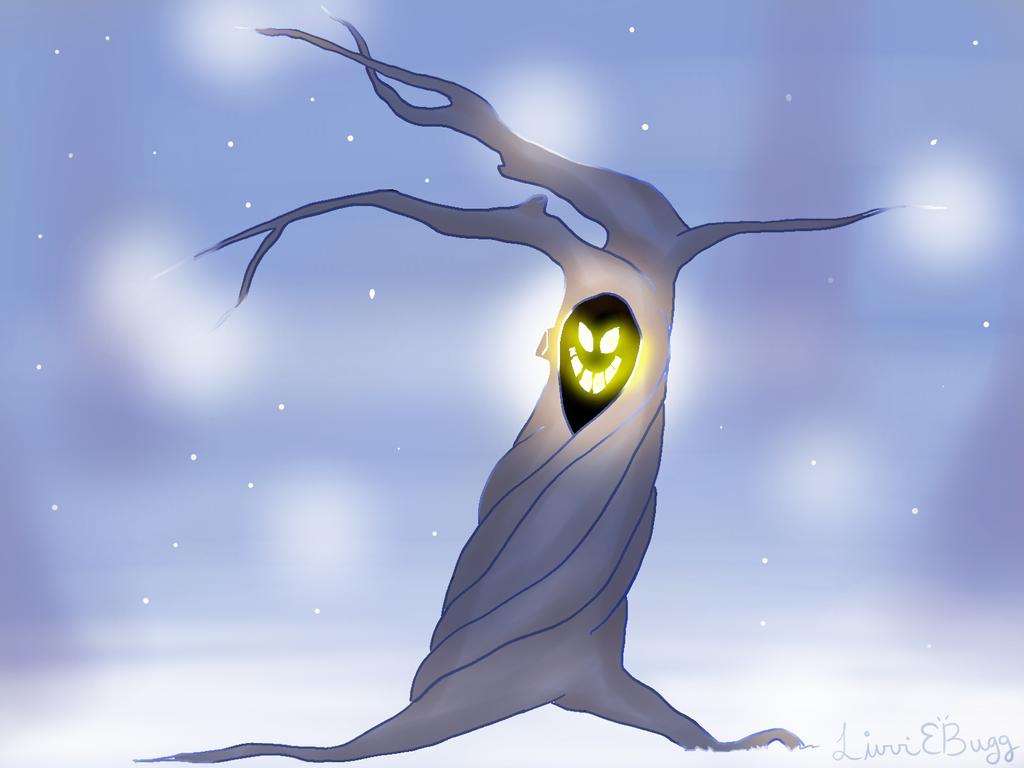 creepy tree by OhLiviaJones