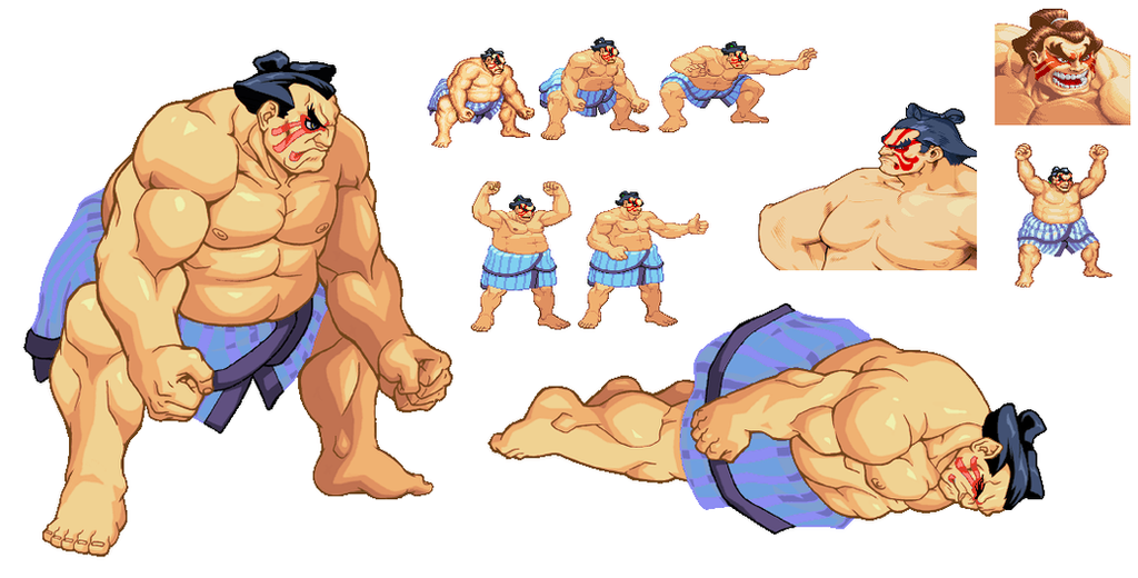 Sprites by gabriel444 on deviantart for B and e honda
