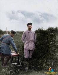 Tsar Nicholas II of Russia by gabriel444