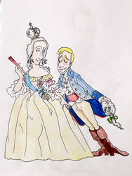 Catherine the Great and D. Gabriel by gabriel444