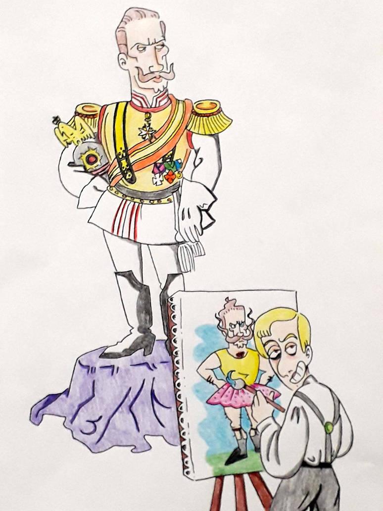 Kaiser Wilhelm II e D. Gabriel by gabriel444