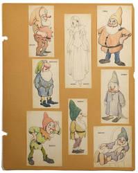 Snow White and Dwarfs Original drawn by gabriel444