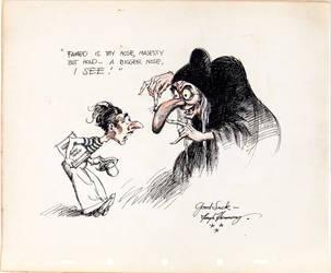 Walt Disney (Caricature) by gabriel444