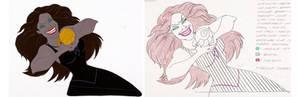 Ursula's transformation Cel