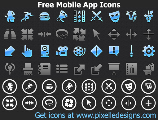 Free Mobile App Icons by yourmailkept