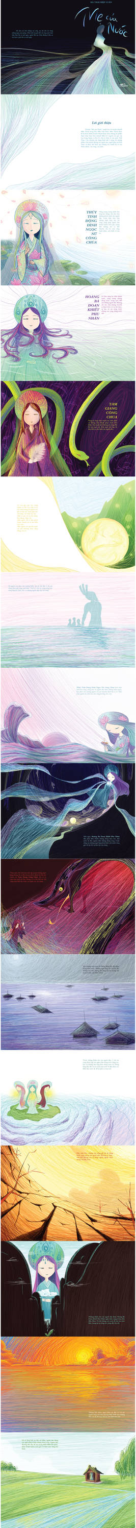 Mother of Water Illustration Book