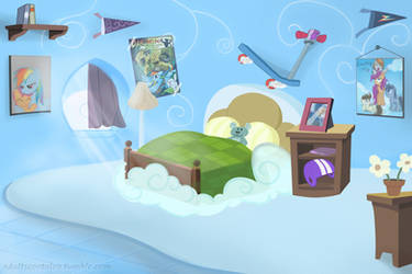 Scootaloo's future cloudroom by RedheadFly