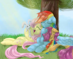 Daytime napping by RedheadFly