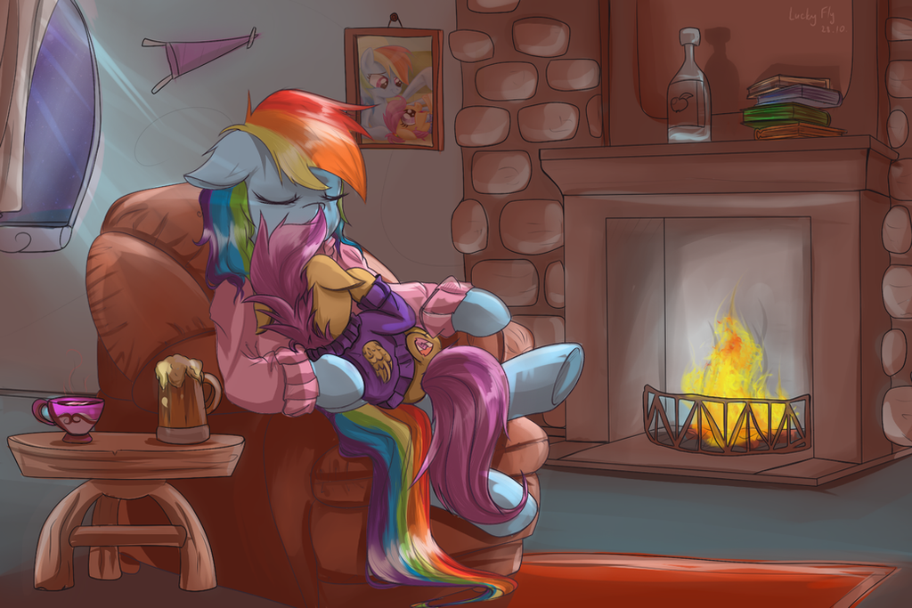 I'll warm you up, squirt by RedheadFly