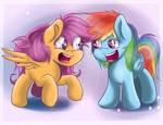 Scootadash for trade by RedheadFly