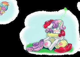 ScootaDash (not exactly) sticker 7 by RedheadFly