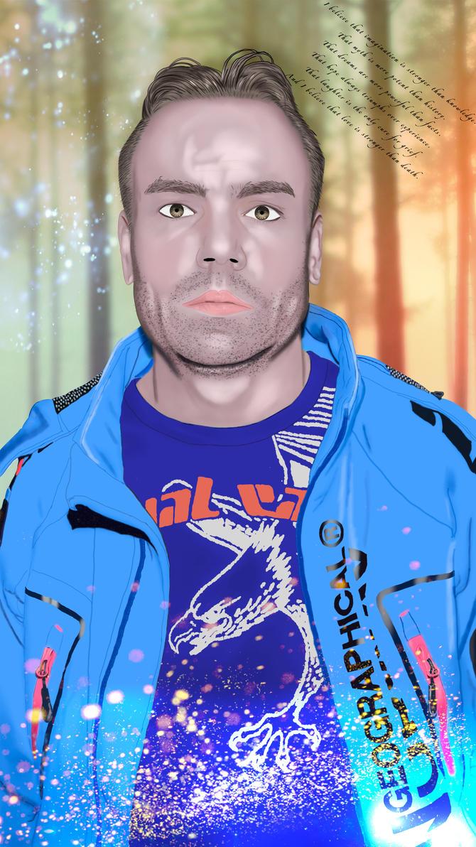 Digital Paint - Me by mydas5