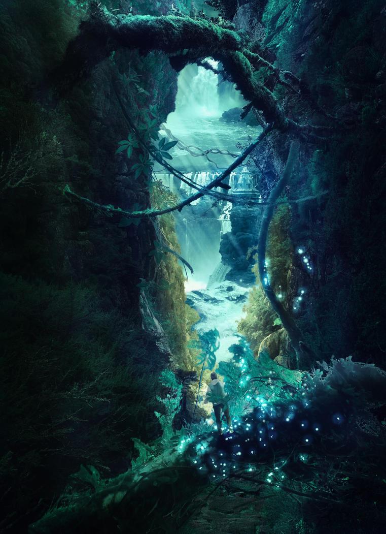 Hidden passage by mydas5