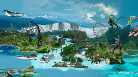 Dino-land by mydas5