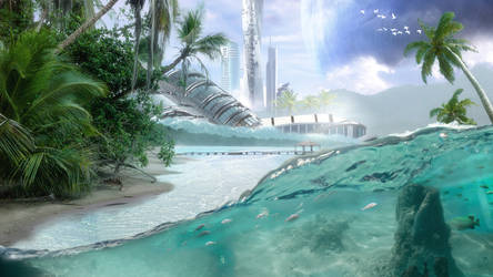 Tropical-paradise by mydas5