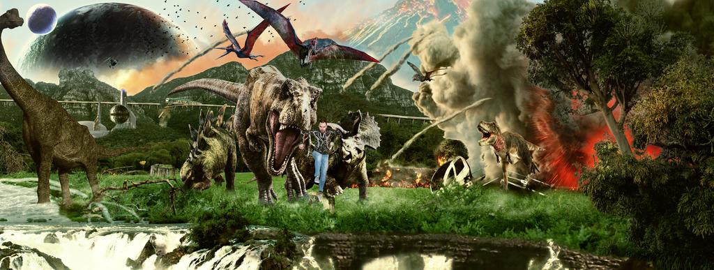 Jurassica Dino-world