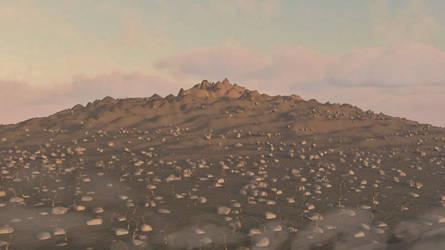 Desert Mountains 3D