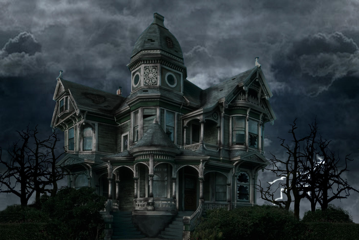 Haunted House By AreYoU On DeviantArt